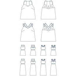 Top/Robe Pavonia