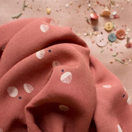 """Seed Chestnut"" Fabric"