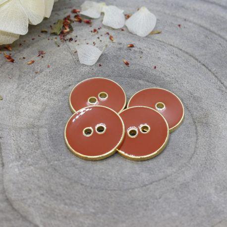 Joy Buttons - Chestnut
