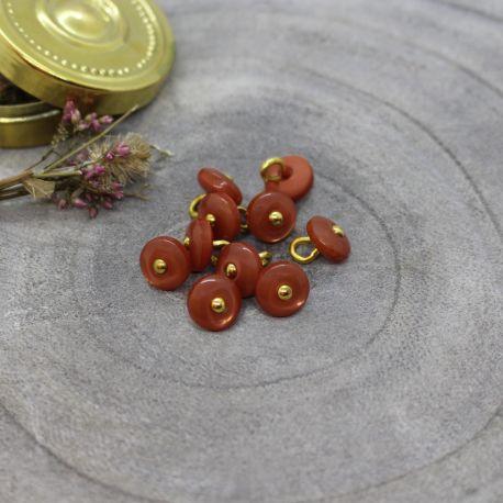 Boutons Jewel - Chestnut