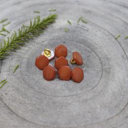 Quartz Buttons - Chestnut