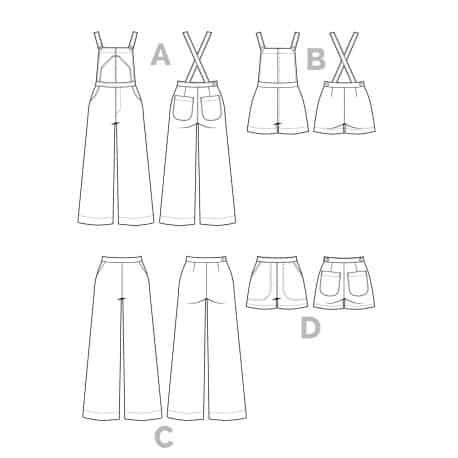 Jenny overalls