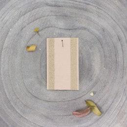 Striped rubber band - Powder