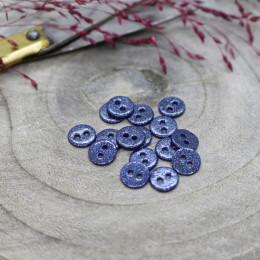 Glitter Buttons - Cobalt