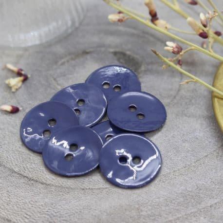 Glossy Buttons - Cobalt