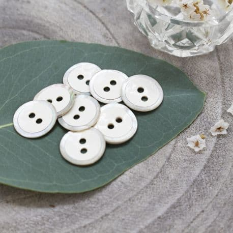Halo Buttons - Off-White
