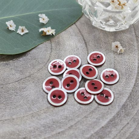 Halo Buttons - Terracotta