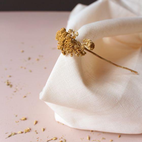 """Tissu """"Linen Off-White"""""""