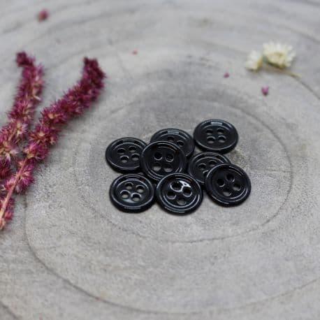 Bliss Buttons - Black