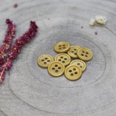 Bliss Buttons - Mustard