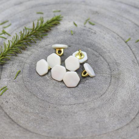 Quartz Buttons - Off-White
