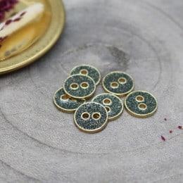 Joy Glitter Buttons - Cedar
