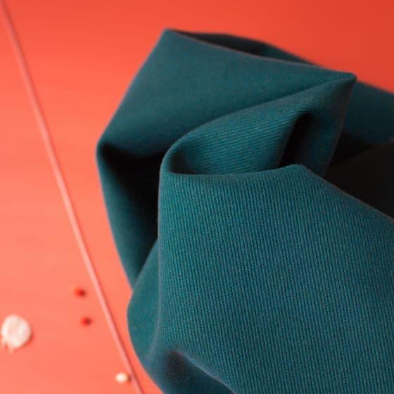 Gabardine Forest Fabric