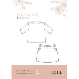 Lucia Top & Livy Skirt