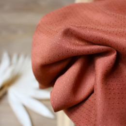 Dobby Chestnut Fabric Remnants