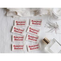 """Etiquettes """"Bonjour Beauté"""""""