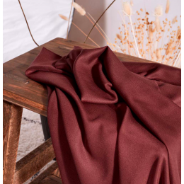 Crepe Rust Fabric