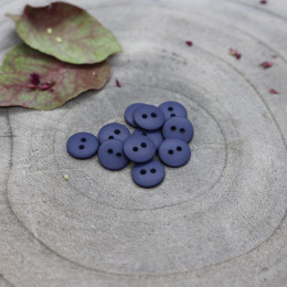 Classic Matte Buttons - Cobalt