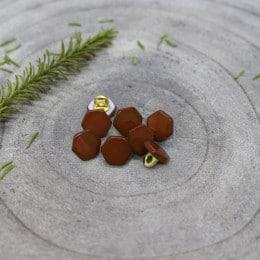 Boutons Quartz - Rust