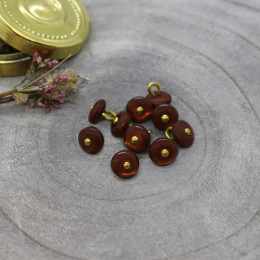 Boutons Jewel - Rust