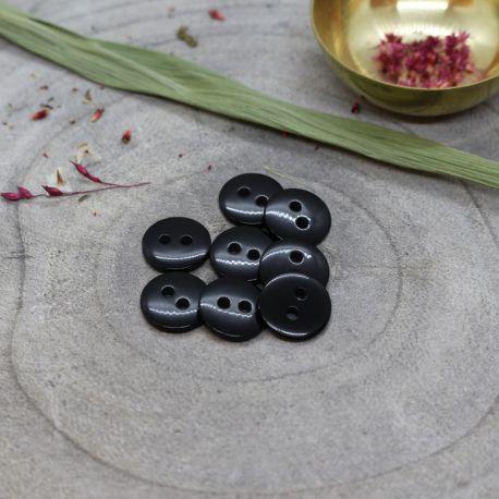 Classic Shine Buttons - Black