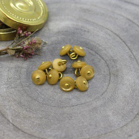 Jewel Buttons - Mustard