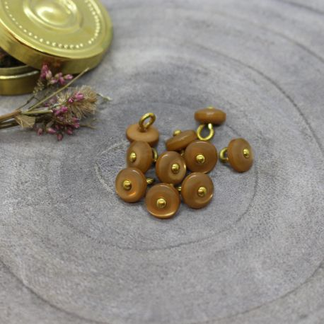 Boutons Jewel - Ochre