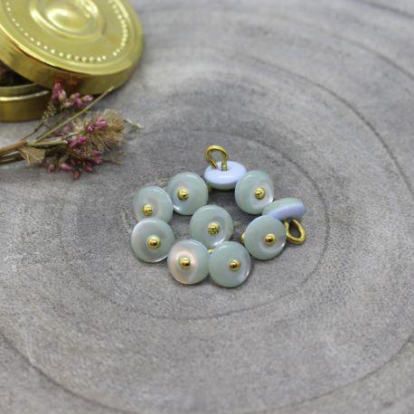 Boutons Jewel - Sage