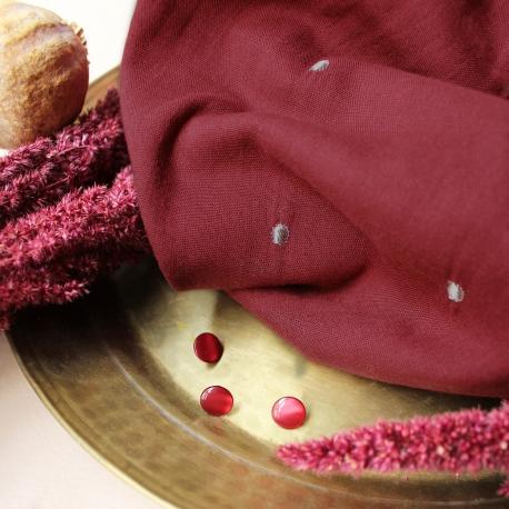 Stardust Amarante Fabric