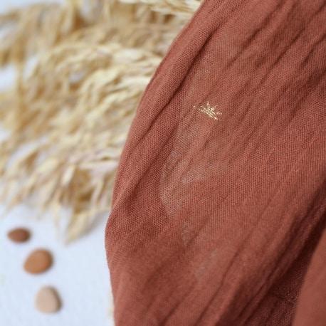 """Tissu """"Sunset Chestnut"""""""