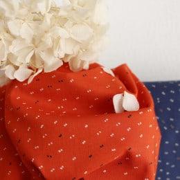 """Tissu """"Sparkle Tangerine"""""""