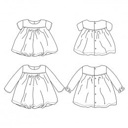 Oslo DUO blouse & dress 6m-4yo