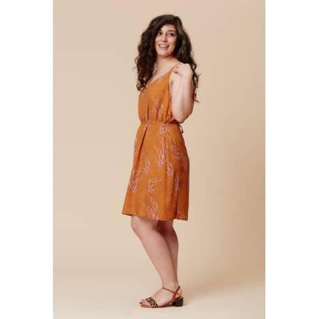 Pensée Dress pattern