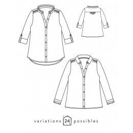 Azur shirt or dress