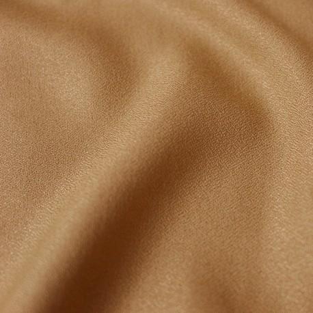 Crepe Ochre Fabric