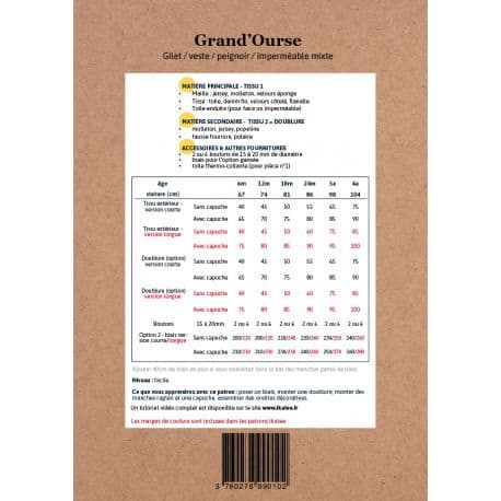 Grand'Ourse 3-12 ans