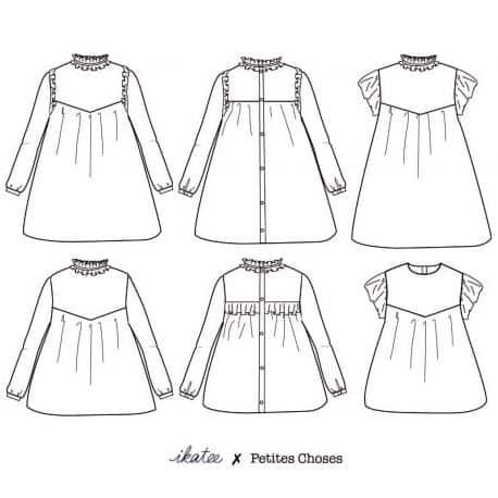 Louise Blouse & Dress 3-12 yo