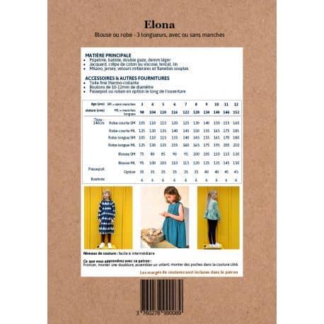 Elona Blouse & Dress 3-12 yo