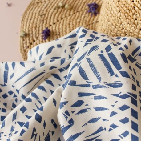 Shade Cobalt Fabric