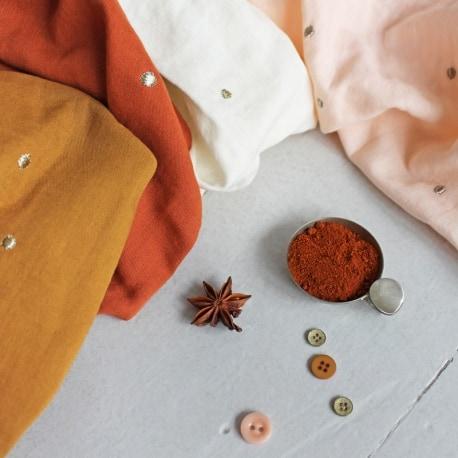 """Tissu """"Stardust Chestnut"""""""