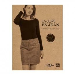 La jupe en jean