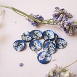Canopy Buttons - Cobalt